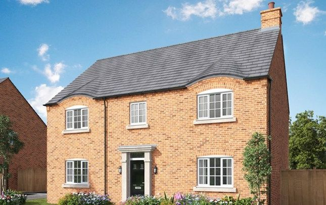 Thumbnail Detached house for sale in The Pickmere, Newport Pagnell Road, Wootton Fields, Northamptonshire
