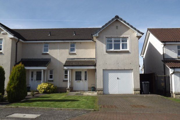 Thumbnail Semi-detached house to rent in Chuckethall Road, Livingston