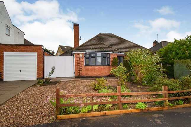 Thumbnail Detached bungalow for sale in Wayside Drive, Oadby, Leicester
