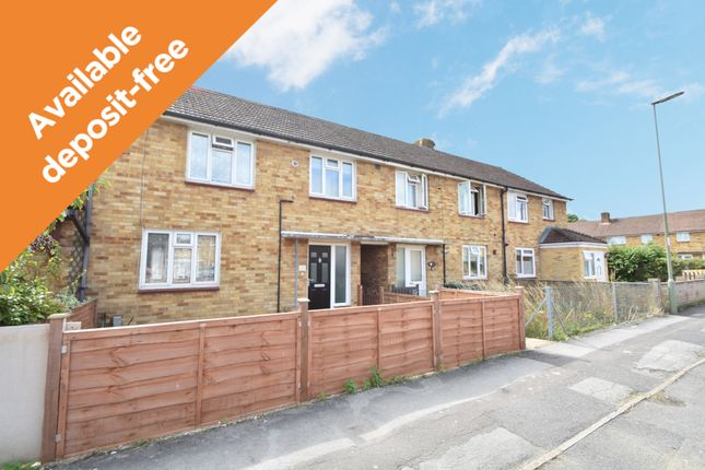 Thumbnail Terraced house to rent in Rockbourne Close, Havant