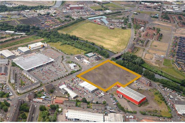 Thumbnail Land for sale in 5-21, Dalmarnock Road, Rutherglen, Glasgow, Scotland