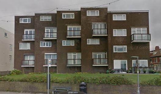 Thumbnail Flat to rent in Queen's Promenade, Bispham