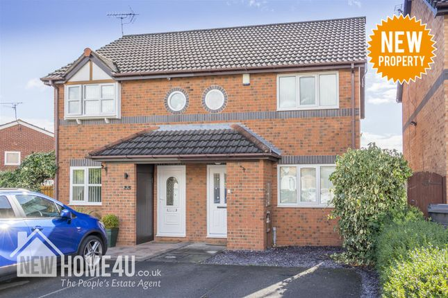 Thumbnail Semi-detached house for sale in Kings Close, Wrexham