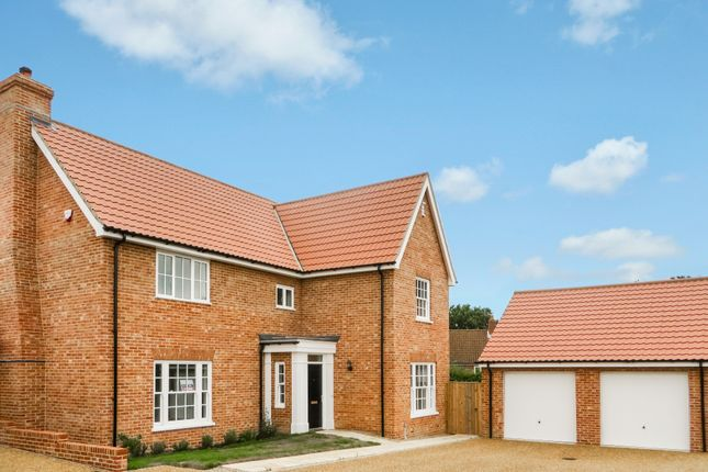 Thumbnail Detached house for sale in St. Michaels Way, Wenhaston, Halesworth
