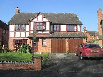 Thumbnail Detached house for sale in Chartwell Park, Sandbach, Cheshire