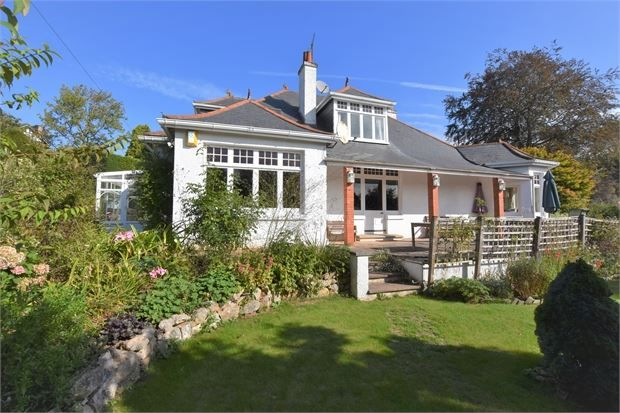 Thumbnail Detached bungalow for sale in Keyberry Park, Newton Abbot, Devon.