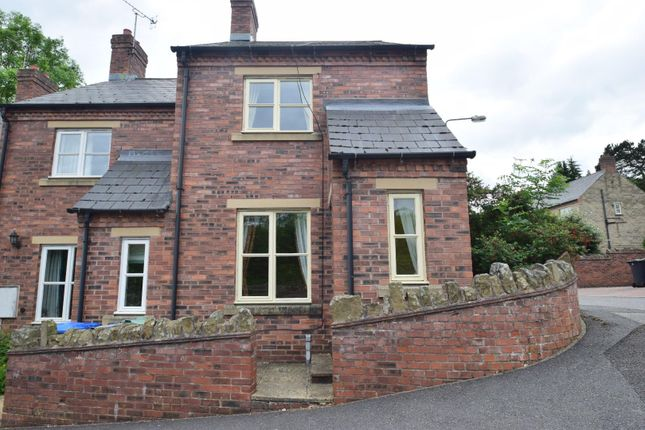 Thumbnail 2 bed end terrace house for sale in Spring Close, Wirksworth, Matlock