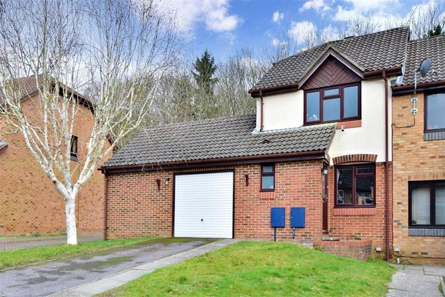 Thumbnail End terrace house for sale in Woodbury Avenue, East Grinstead, West Sussex