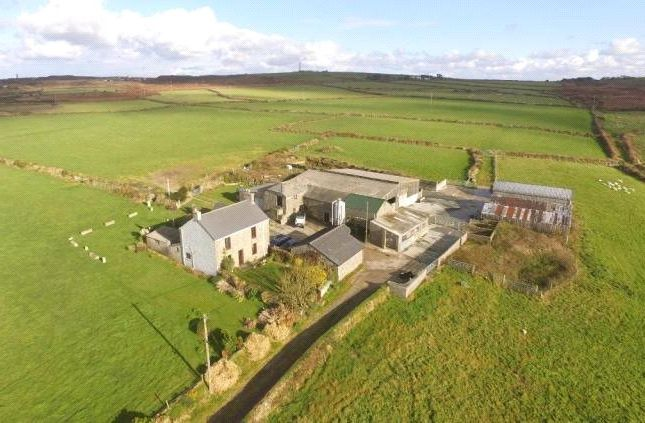 Thumbnail Land for sale in Dowran, St Just, Penzance, Cornwall