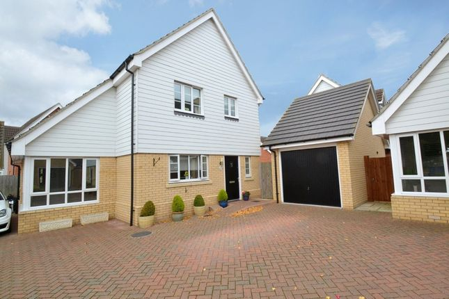 Thumbnail Detached house for sale in Liberator Close, Great Waldingfield, Sudbury