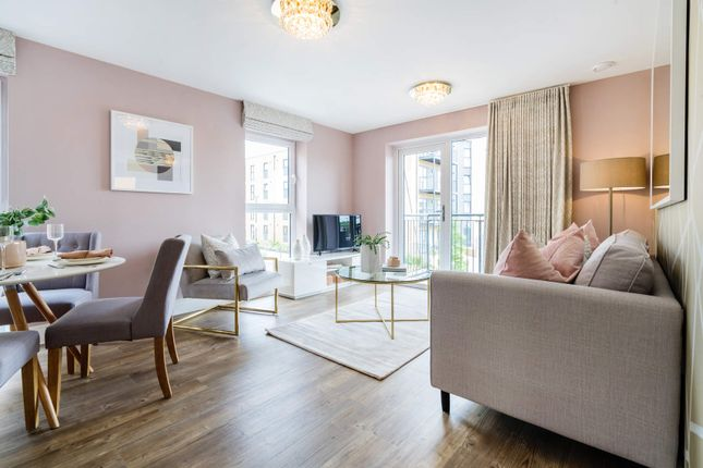 Thumbnail 1 bed flat for sale in 127 Riverside Quay, Endle Street, Southampton