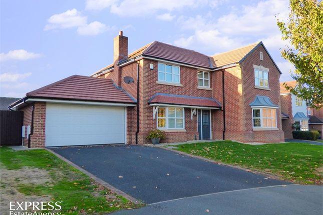 Thumbnail Detached house for sale in Little Roodee, Hawarden, Deeside, Flintshire