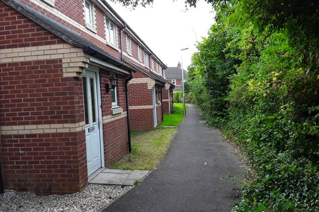 Thumbnail Terraced house to rent in Whitefriars Walk, Exeter