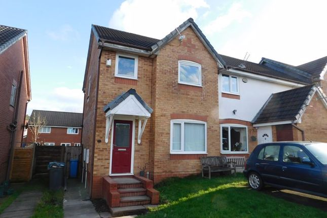 Thumbnail Semi-detached house to rent in Hough Close, Oldham