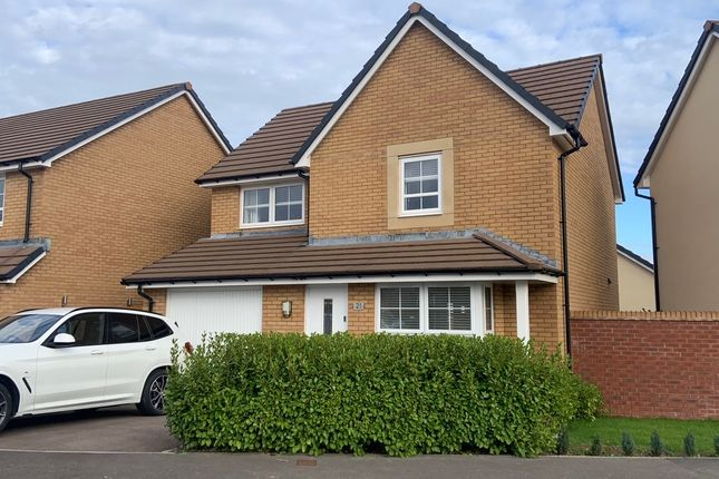 Thumbnail Detached house for sale in James Prosser Way, Llantarnam, Cwmbran