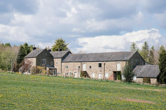 Thumbnail Farmhouse for sale in Alderwasley, Belper
