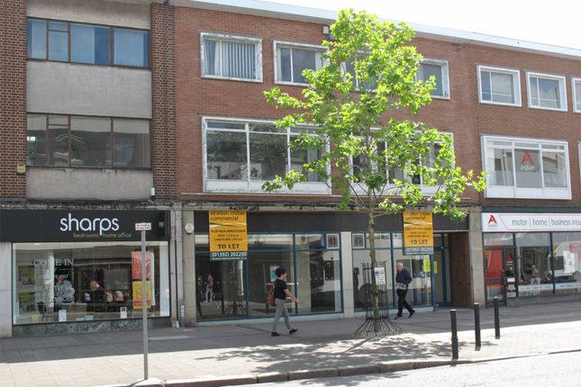 Retail premises to let in Sidwell Street, Exeter