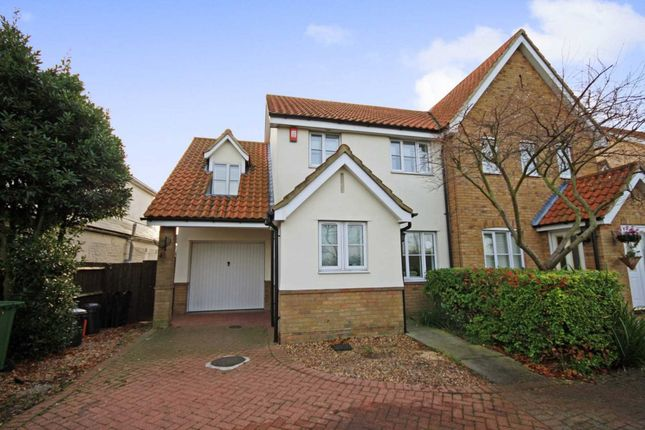 Thumbnail Semi-detached house for sale in Wash Road, Laindon, Basildon