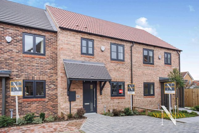 Thumbnail Mews house for sale in Hawfinch Meadows, Retford, Nottinghamshire