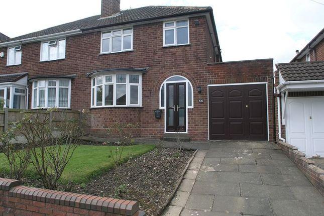 Semi-detached house for sale in Willowsbrook Road, Halesowen