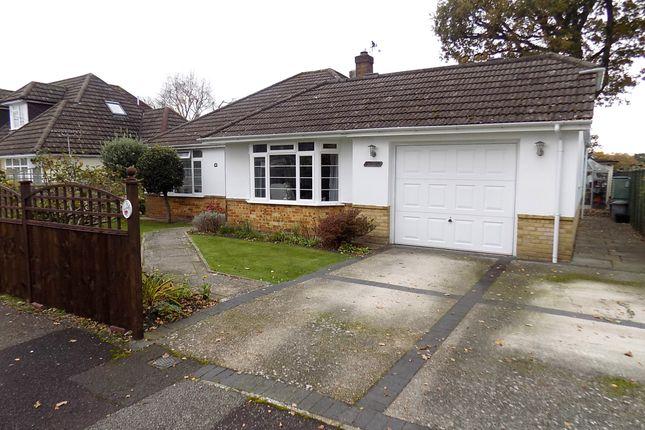 Thumbnail Detached bungalow for sale in Wellington Close, Dibden Purlieu