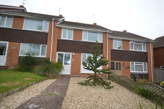Thumbnail Terraced house to rent in Linden Close, Exmouth