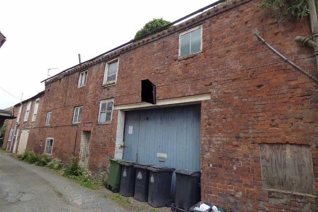 Thumbnail Town house for sale in Chapel Lane, Noble Street, Wem, Shrewsbury