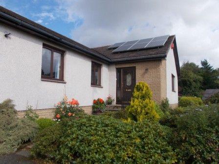 Thumbnail Detached bungalow for sale in 354 Rullion Road, Penicuik, Midlothian