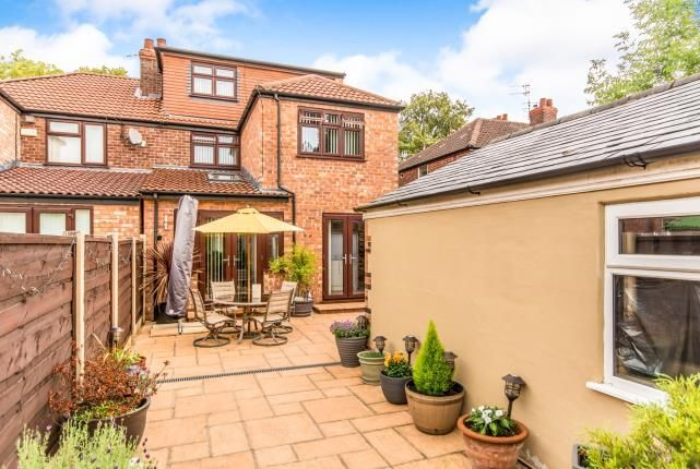 Thumbnail Semi-detached house for sale in Victoria Road, Withington, Manchester, Uk