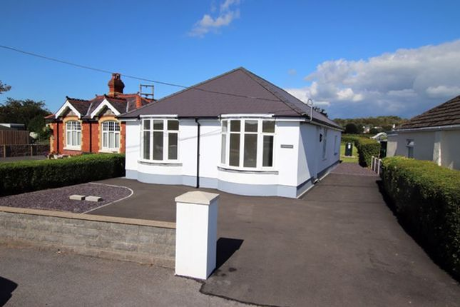Thumbnail Detached bungalow for sale in Porthyrhyd, Carmarthen