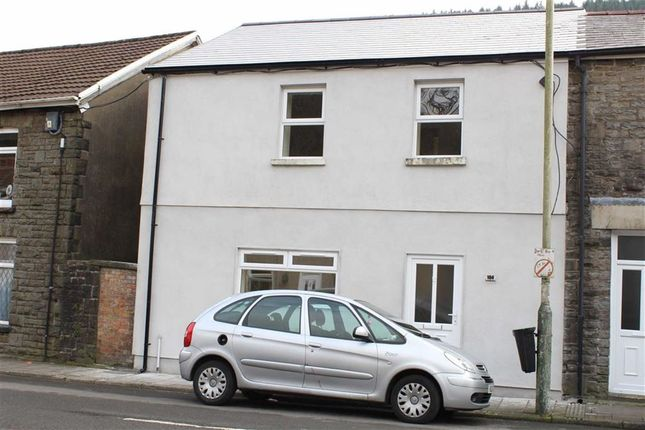 Thumbnail End terrace house for sale in Trehafod Road, Trehafod, Pontypridd