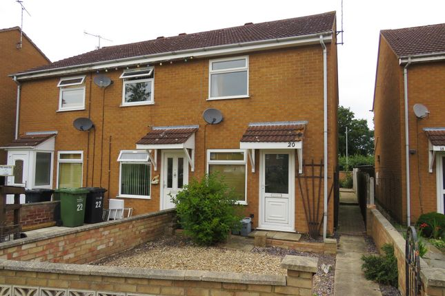 Thumbnail End terrace house for sale in Daseleys Close, King's Lynn