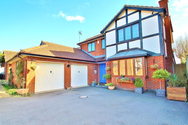 Thumbnail Detached house for sale in Westfield Close, Rearsby, Leicestershire