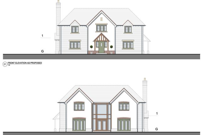 Thumbnail Detached house for sale in Plot 4, Church Lane, Cookhill, Alcester