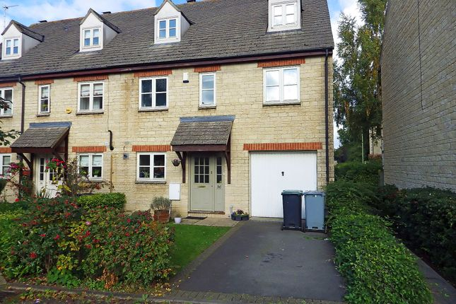 Thumbnail Terraced house to rent in Waine Rush View, Witney, Oxfordshire
