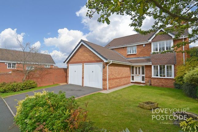 Thumbnail Detached house for sale in Spencer Close, Tividale, Oldbury