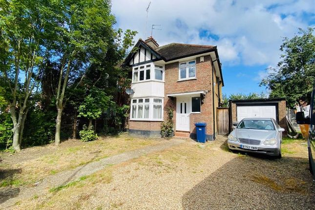 Thumbnail Semi-detached house to rent in Manor Park Crescent, Edgware, Middlesex