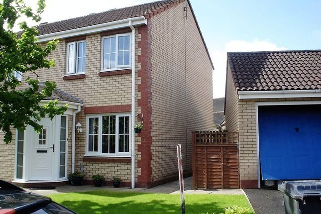 Thumbnail Semi-detached house to rent in Tribune Drive, Houghton, Carlisle