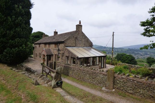 Thumbnail Farmhouse for sale in Martinside, Chapel En Le Frith, High Peak