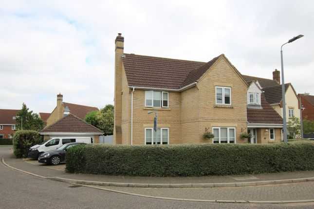 Thumbnail Detached house for sale in Maple Way, Dunmow