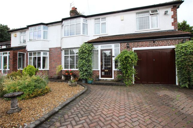 Thumbnail Semi-detached house for sale in Taunton Avenue, Bamford, Rochdale, Greater Manchester