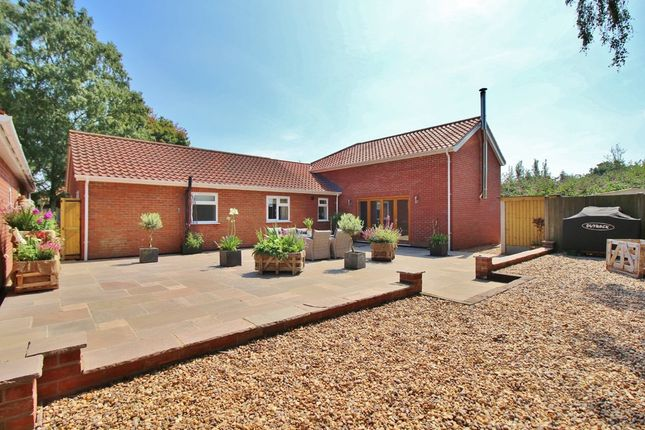 Thumbnail Detached bungalow for sale in Waldemar Avenue, Old Catton, Norwich