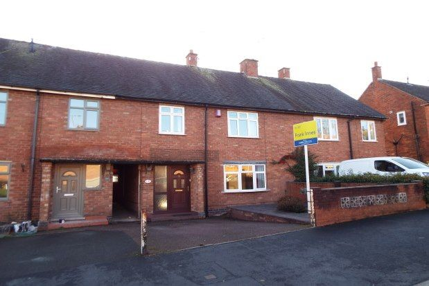 Thumbnail Terraced house to rent in Redfern Road, Uttoxeter