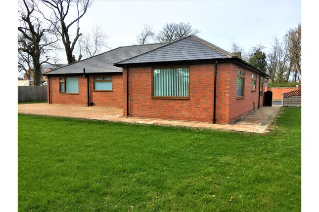 Detached bungalow for sale in Wrexham Road, Wrexham