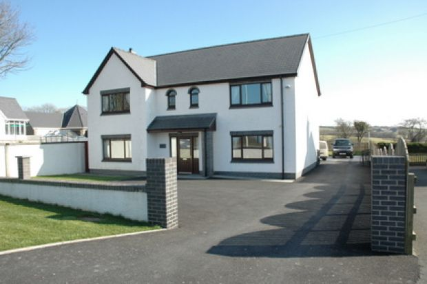 Thumbnail Detached house for sale in Sarnau, Cardigan, Ceredigion