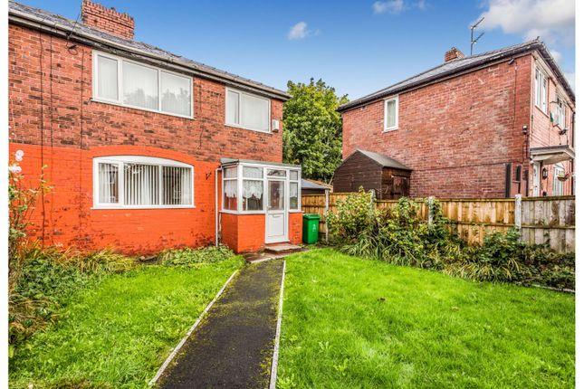 Thumbnail Semi-detached house for sale in Elmsdale Avenue, Manchester