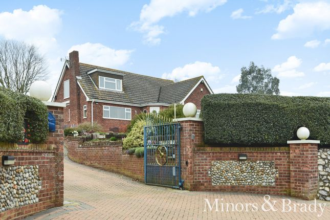 Thumbnail Detached bungalow for sale in School Lane, Cantley, Norwich