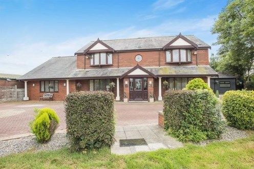 Thumbnail Detached house for sale in Stockydale Road, Blackpool, Lancashire, United Kingdom