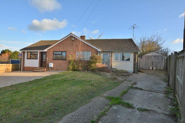 Thumbnail Semi-detached bungalow for sale in Windmill Close, Willesborough, Ashford