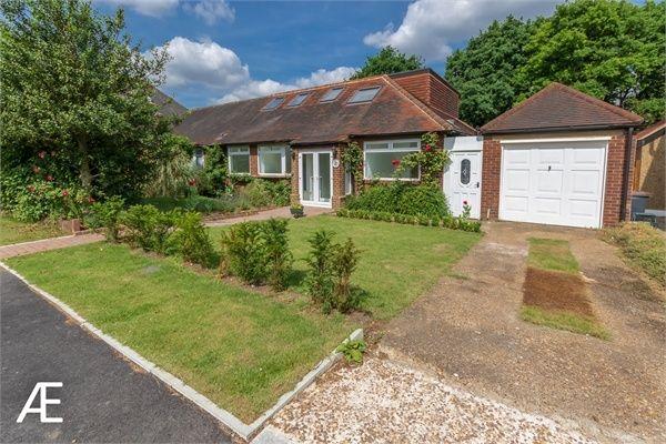 Thumbnail Semi-detached bungalow for sale in Ingleby Way, Chislehurst, Kent